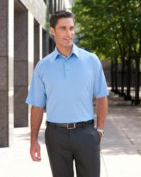 1270C Ashworth Mens Performance Wicking Piqu Polo